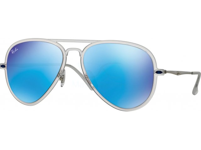 Ray-Ban RB4211 646/55 Matte Transparent
