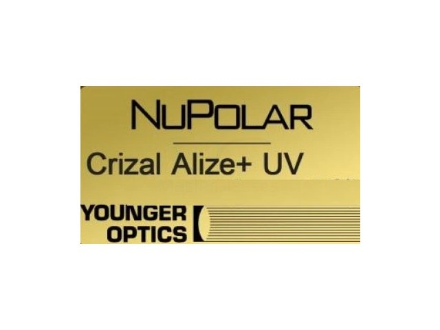 Younger Optics 1.5 NuPolar Crizal Alize + UV  РЕЦЕПТУРНАЯ ЛИНЗА