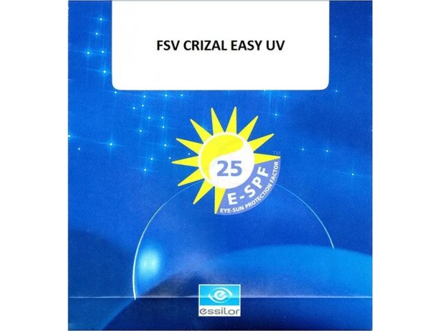 Essilor 1.56 FSV Crizal Easy UV