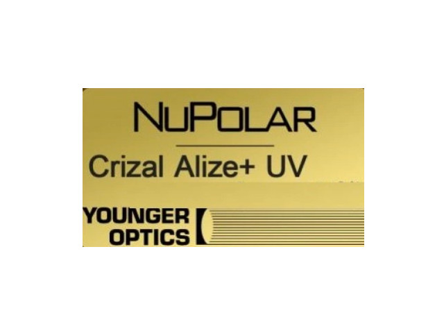 Younger Optics 1.5 NuPolar Crizal sun UV RX  РЕЦЕПТУРНАЯ ЛИНЗА