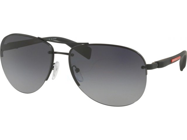 Prada linea rossa Ps 56ms (65) PS 56MS DG05W1 Black Rubber
