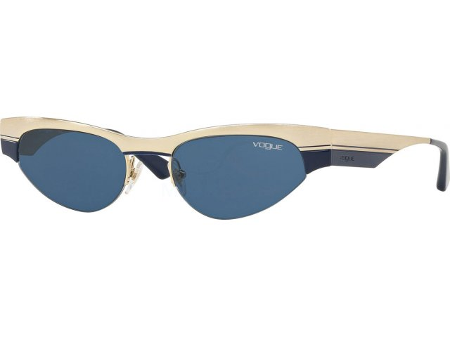 Vogue VO4105S 848/80 Brushed Pale Gold/blue