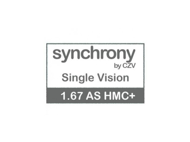 Synchrony Single Vision AS 1.67 HMC+