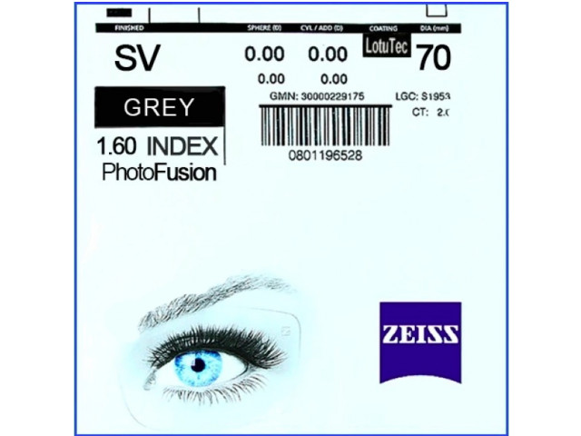 Zeiss Single Vision 1.6 и 1.6 AS