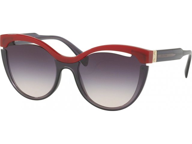 Miu miu Core Collection MU 01TS 7J8NJ0 Bordeaux/transparent Lilac