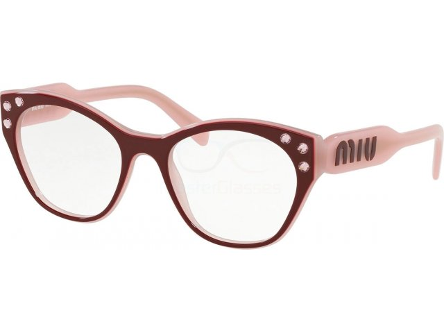 Оправа Miu miu Core Collection MU 02RV 1041O1 Top Garnet On Alabaster