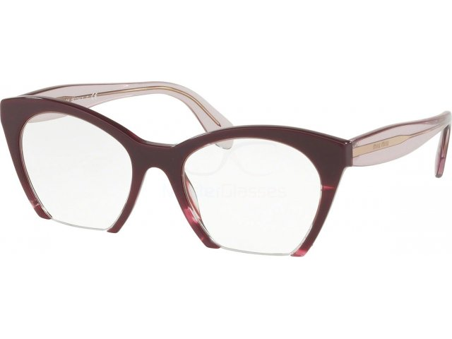 Оправа Miu miu Core Collection MU 03QV Q041O1 Violet/transparent