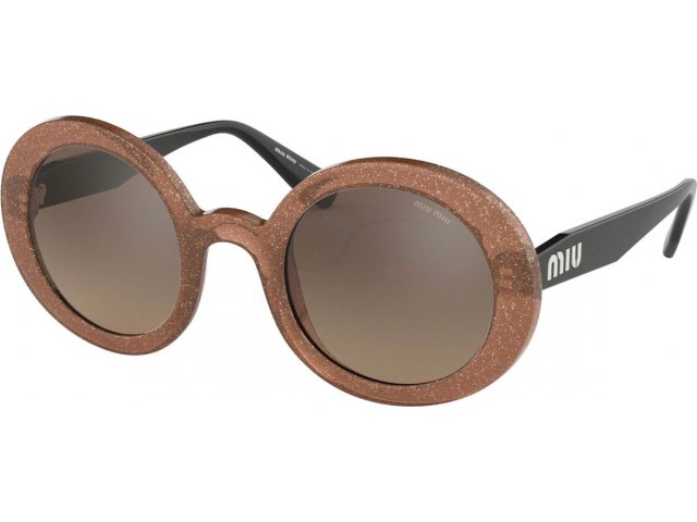 Miu miu Core Collection MU 06US 1294P0 Transparent Cammeo Glitter