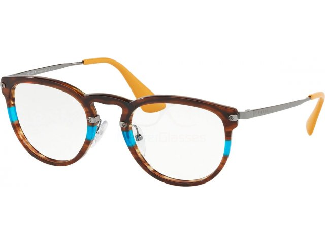 Оправа Prada Catwalk PR 02VV 2581O1 Striped Brown Azure