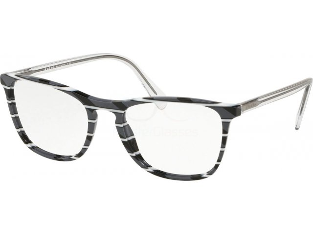 Оправа Prada Conceptual PR 08VV 3181O1 Striped Grey White