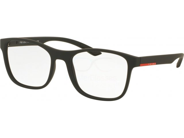 Оправа Prada linea rossa Lifestyle PS 08GV DG01O1 Black Rubber
