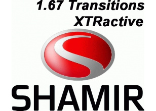 Shamir 1.67 Transitions XTRActive Glacier+UV рецептурная линза
